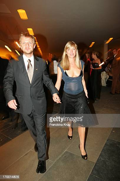 Sönke Wortmann With wife Celia Kunz at Party After The 55th Ceremony Of The 'German Film Award' in the Berlin Philharmonic Hall on 080705