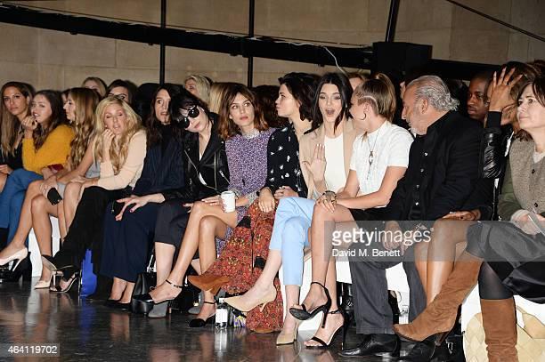 Snoh Aalegra Atlanta de Cadenet Taylor Harley Viera Newton Ellie Goulding Jessie Ware Daisy Lowe Alexa Chung Pixie Geldof Kendall Jenner Cara...