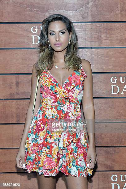 Snoh Aalegra attends GUESS Dare Double Dare Fragrance Launch at Ysabel on July 27 2016 in West Hollywood California