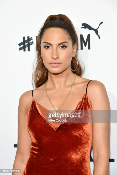 Snoh Aalegra attends the 4th Annual TIDAL X Brooklyn at Barclays Center of Brooklyn on October 23 2018 in New York City