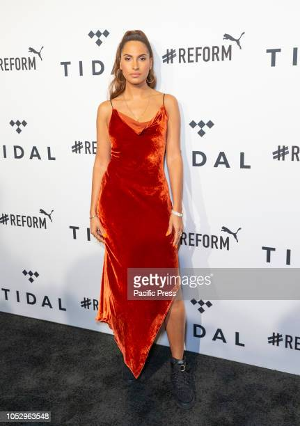 Snoh Aalegra attends the 4th Annual TIDAL X Brooklyn at Barclays Center