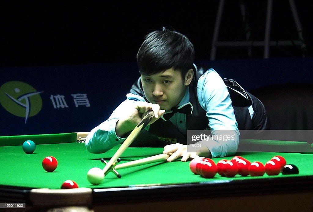 World Snooker Bank Of Communications OTO Shanghai Masters 2014 - Day 1 : News Photo