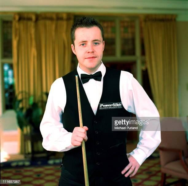 Snooker player John Higgins portrait UK September 1999