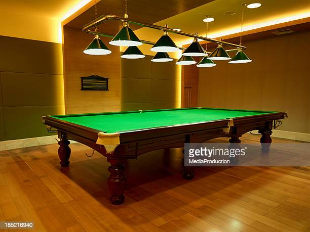 snooker table - man cave stock pictures, royalty-free photos & images