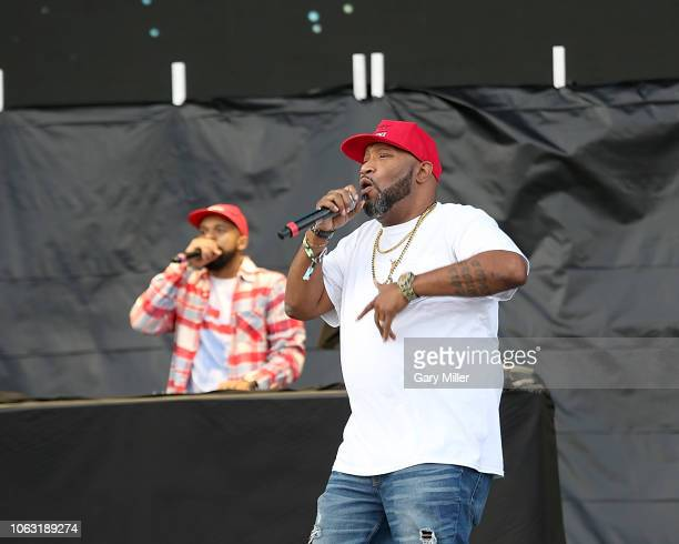 Snoop and Bun B perform in concert during the inaugural Astroworld Festival at NRG Park on November 17 2018 in Houston Texas