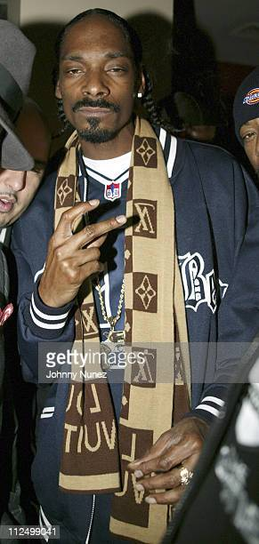 Snoop Dog during Sizzle Records Release Party with Special Performance by Clipse at Suede in New York City New York United States