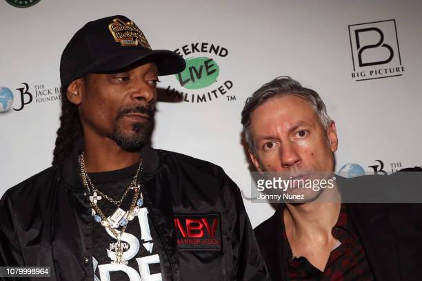 Snoop Dogg and Barry Mullineax attend the Barry Mullineaux Birthday Celebration at Pomona on January 9, 2019 in New York City.