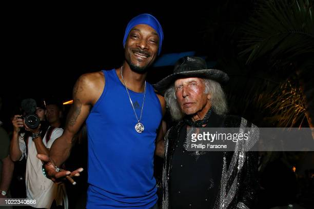 Snoop Dogg and James Goldstein attend the Prive Revaux Investor Closing Party at Club James in Beverly Hills on August 23 2018 in Beverly Hills...
