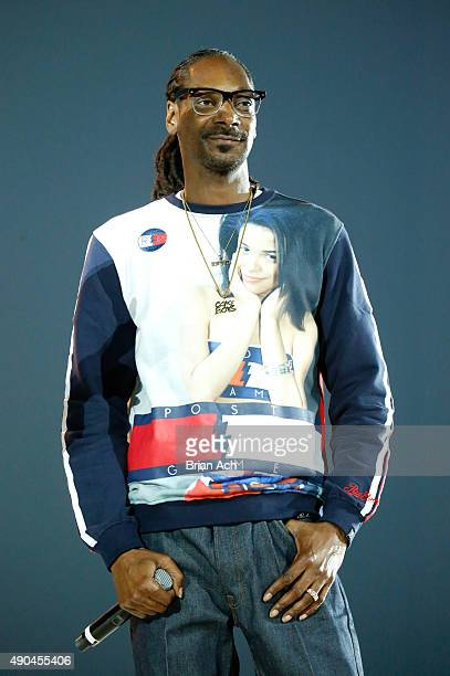 Snoop Dogg announces new AOL Original video series during AOL's Future Front on September 28 2015 in New York City
