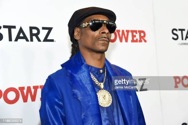 Snoop Dogg at STARZ Madison Square Garden Power Season 6 Red Carpet Premiere Concert and Party on August 20 2019 in New York City