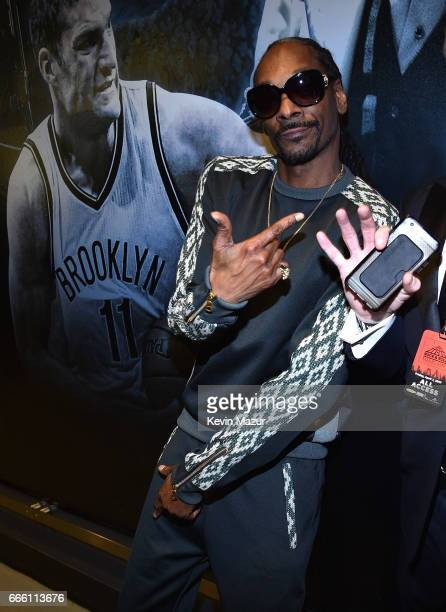 Snoop Dogg attends 32nd Annual Rock Roll Hall Of Fame Induction Ceremony at Barclays Center on April 7 2017 in New York City The broadcast will air...