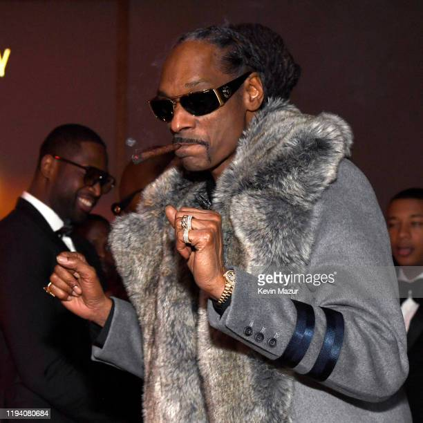 Snoop Dogg attends Sean Combs 50th Birthday Bash presented by Ciroc Vodka on December 14 2019 in Los Angeles California
