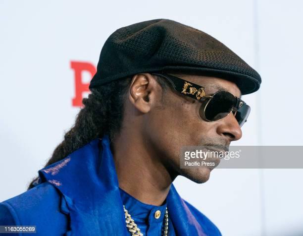Snoop Dogg attends STARZ Power Season 6 premiere at Madison Square Garden.
