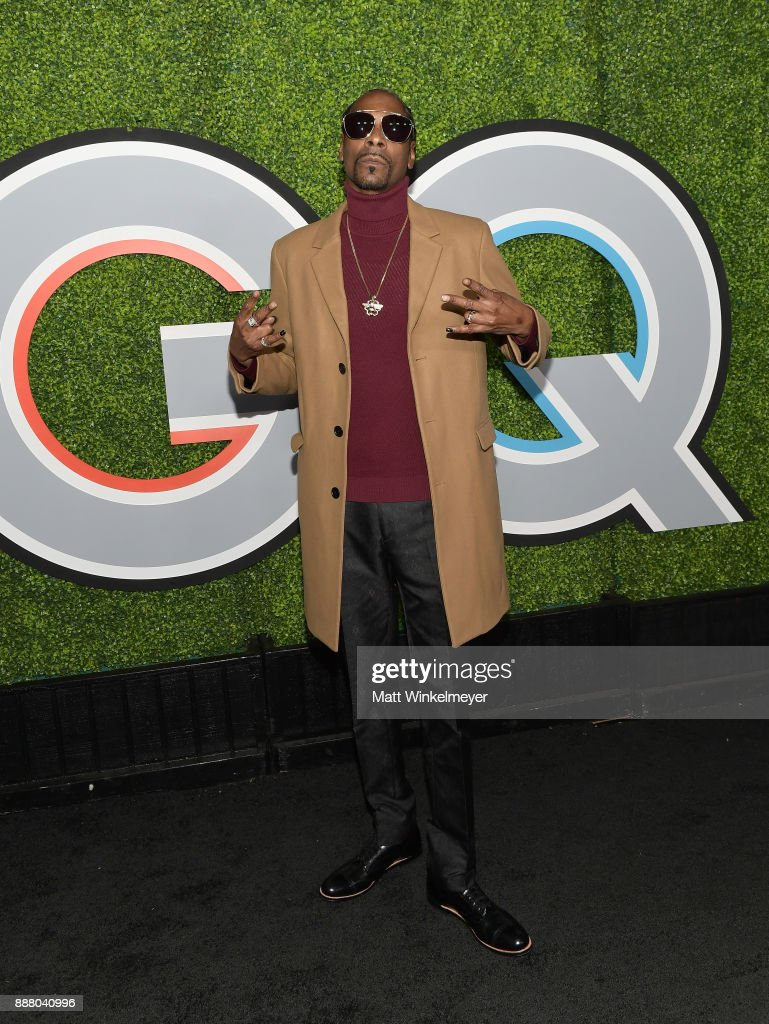 Snoop Dogg attends the 2017 GQ Men of the Year party at Chateau Marmont on December 7, 2017 in Los Angeles, California.