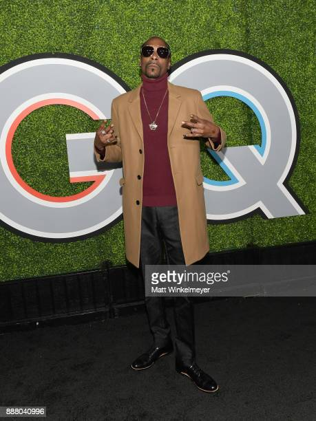 Snoop Dogg attends the 2017 GQ Men of the Year party at Chateau Marmont on December 7 2017 in Los Angeles California
