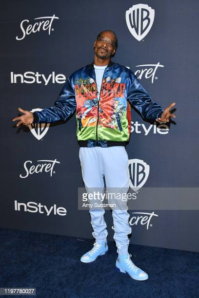Snoop Dogg attends the 21st Annual Warner Bros And InStyle Golden Globe After Party at The Beverly Hilton Hotel on January 05 2020 in Beverly Hills...