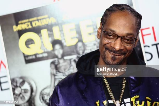 Snoop Dogg attends the AFI FEST 2019 Presented By Audi premiere of Queen Slim at TCL Chinese Theatre on November 14 2019 in Hollywood California