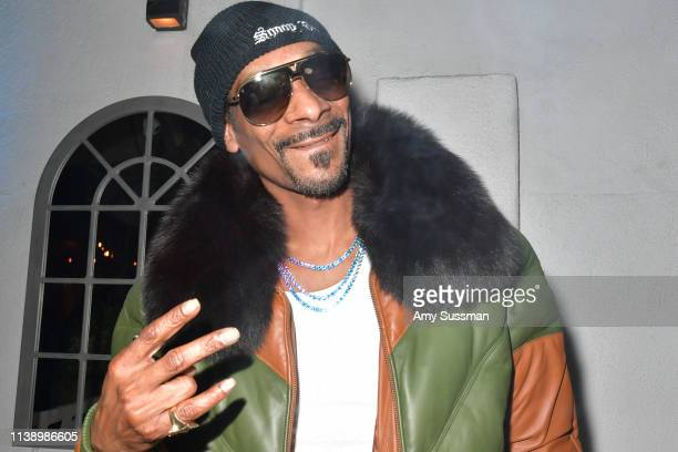 Snoop Dogg attends the after party of Neon And Vice Studio's The Beach Bum at ArcLight Hollywood on March 28 2019 in Hollywood California
