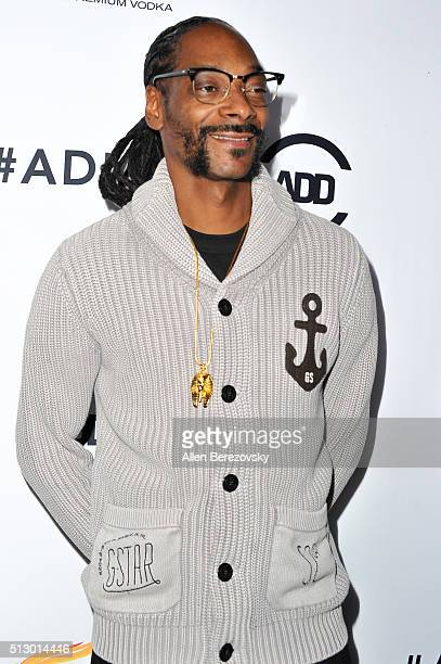 Snoop Dogg attends the All Def Movie Awards at Lure Nightclub on February 24 2016 in Los Angeles California