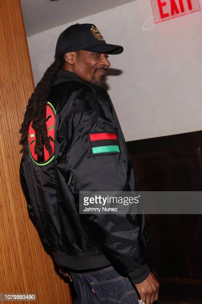 Snoop Dogg attends the Barry Mullineaux Birthday Celebration at Pomona on January 9, 2019 in New York City.
