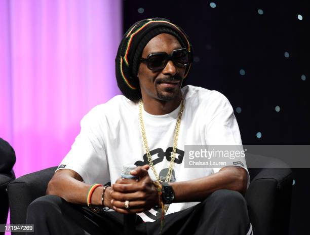 Snoop Dogg attends the BET Revealed Seminars during the 2013 BET Experience at JW Marriott Los Angeles at LA LIVE on June 29 2013 in Los Angeles...
