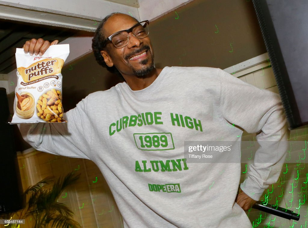 Popchips Launches Nutter Puffs with Special Guest Snoop Dogg at the Chateau Marmont in Los Angeles