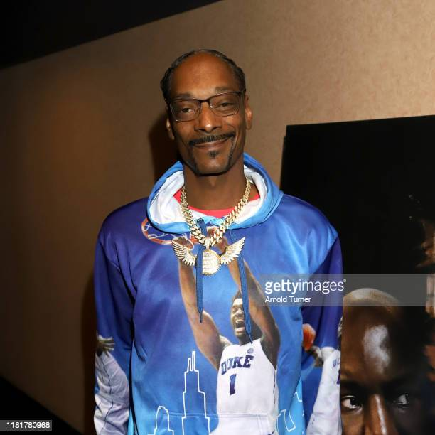 "Snoop Dogg attends the Los Angeles Influencer Special Screening of Sony Pictures' ""BLACK AND BLUE,"" hosted by Terrence J and Director Deon Taylor at..."