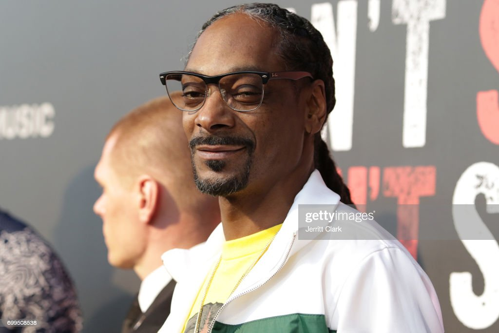 Snoop Dogg attends the Los Angeles Premiere Of 'Can't Stop Won't Stop' at Writers Guild of America, West on June 21, 2017 in Los Angeles, California.
