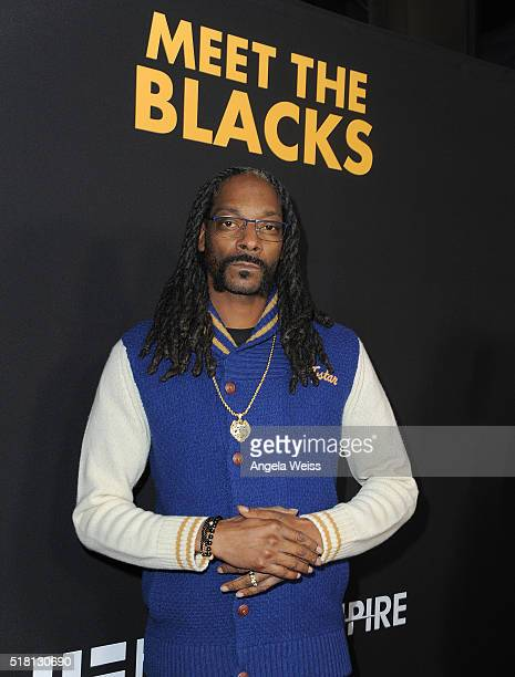 Snoop Dogg attends the premiere of Freestyle Releasing's 'Meet The Blacks' Red Carpet at ArcLight Hollywood on March 29 2016 in Hollywood California
