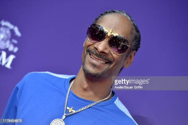 Snoop Dogg attends the Premiere of MGM's The Addams Family at Westfield Century City AMC on October 06 2019 in Los Angeles California