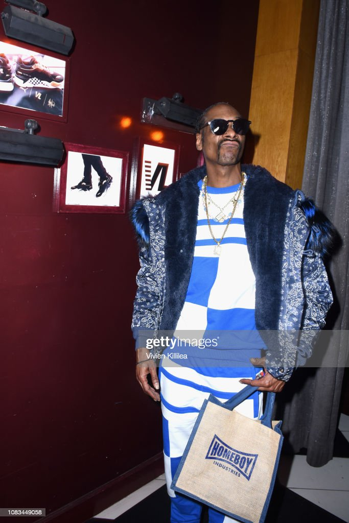 Snoop Dogg attends the PUMA x Nipsey Hussle 2019 Grammy Nomination ... e9befb9a9