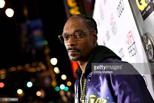 Snoop Dogg attends the Queen Slim Premiere at AFI FEST 2019 presented by Audi at the TCL Chinese Theatre on November 14 2019 in Hollywood California