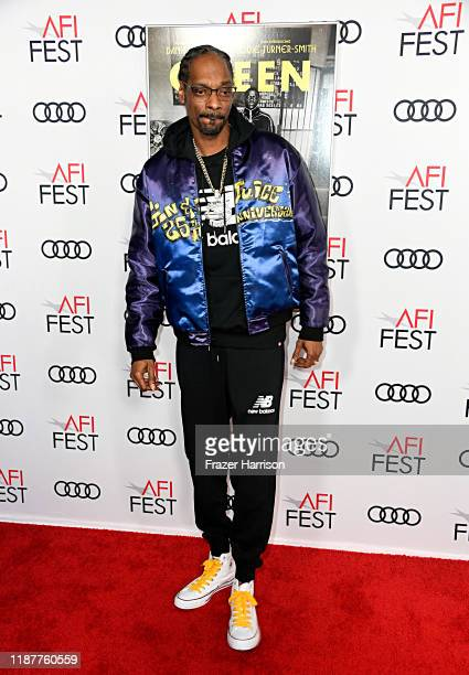 """Snoop Dogg attends the """"Queen & Slim"""" Premiere at AFI FEST 2019 presented by Audi at the TCL Chinese Theatre on November 14, 2019 in Hollywood,..."""
