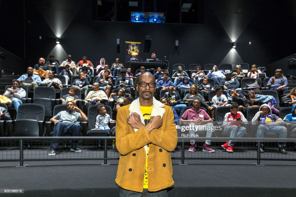 "IMAX, Snoop Dogg and Cashmere Agency Host ""Black Panther"" Screening For Los Angeles-Area Youth"