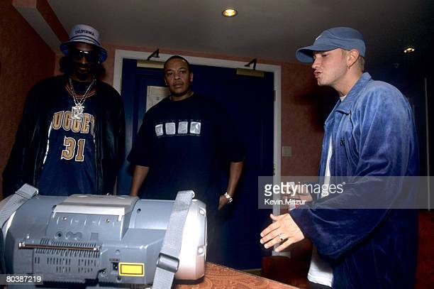 Snoop Dogg Dr Dre and Eminem