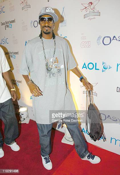 Snoop Dogg during 2006 MTV Video Music Awards AOL Music Post VMA Party at Nikki Midtown Welcome Back Lil' Kim at Nikki Beach in New York City New...