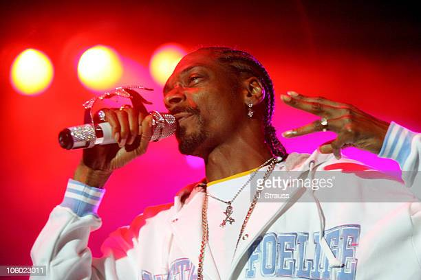 Snoop Dogg during 2006 San Diego Street Scene Day 2 at Qualcomm Stadium in San Diego California United States
