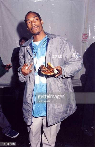 Snoop Dogg during Fox Billboard Awards 1994-Backstage at Universal Amphitheater in Universal City, California, United States.