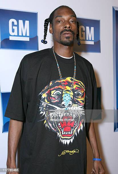 Snoop Dogg during General Motors Presents 3rd Annual GM All-Car Showdown Hosted by Shaquille O'Neal - Red Carpet at Paramount Studios in Hollywood,...
