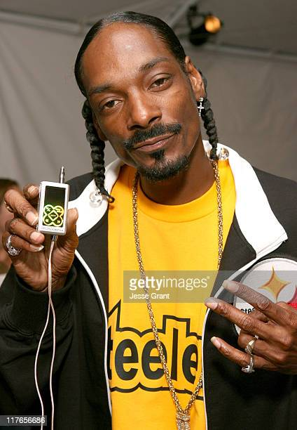 Snoop Dogg during My Scene Fab Faces Dolls Celebrity Retreat Produced by Backstage Creations at the 2006 Teen Choice Awards Day 2 at Gibson...