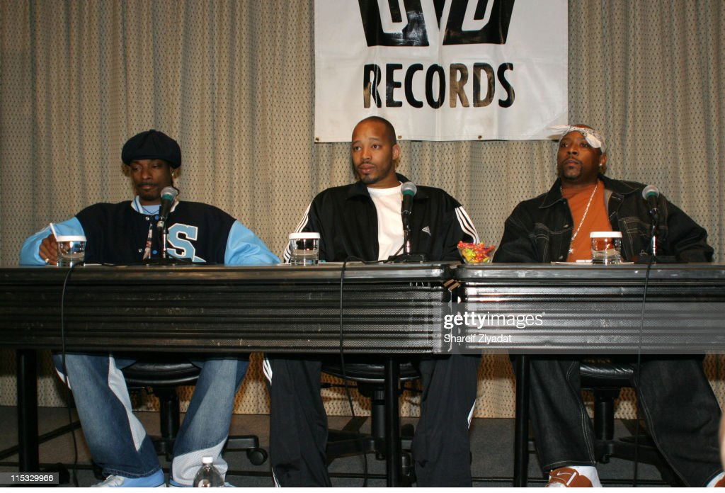 Snoop Dogg, Nate Dogg and Warren G Announce New Album 213 - Press Conference : News Photo