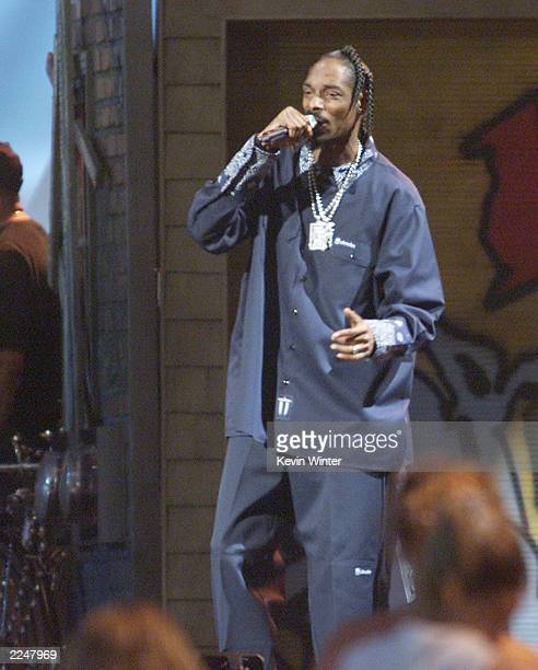 Snoop Dogg performed live at Memorial Stadium in Seattle Wash to celebrate the opening of Experience Music Project an interactive music museum...