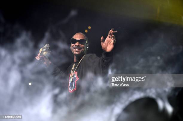 Snoop Dogg performs at Masters Of Ceremony 2019 at Barclays Center on June 28 2019 in New York City