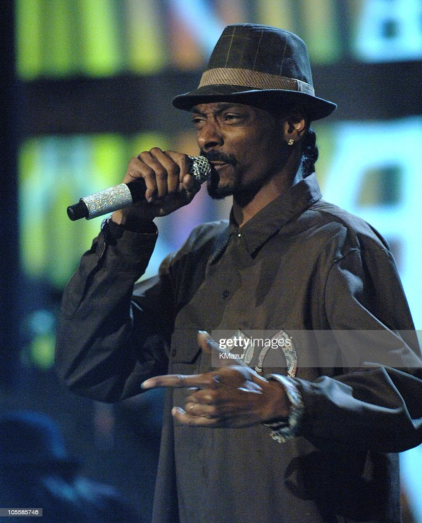 Snoop Dogg performs during 2005 Radio Music Awards - Show at