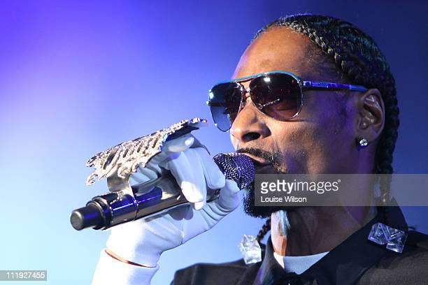 Snoop Dogg performs during Sydney Supafest Music Festival at ANZ Stadium on April 9, 2011 in Sydney, Australia.