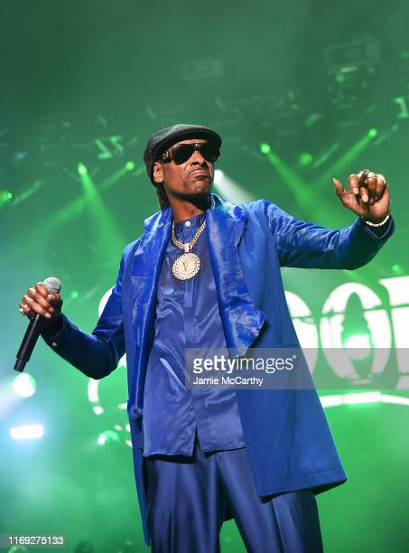 """Snoop Dogg performs onstage at STARZ Madison Square Garden """"Power"""" Season 6 Red Carpet Premiere, Concert, and Party on August 20, 2019 in New York..."""