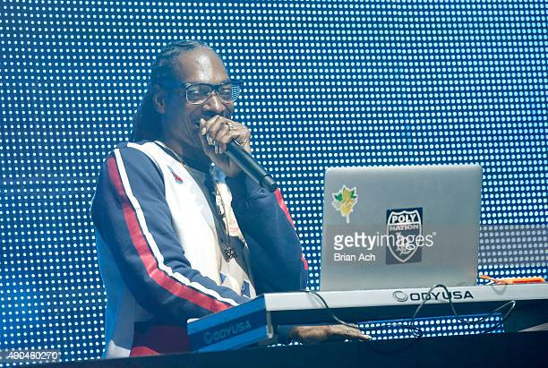 Snoop Dogg performs onstage during AOL's Future Front on September 28 2015 in New York City