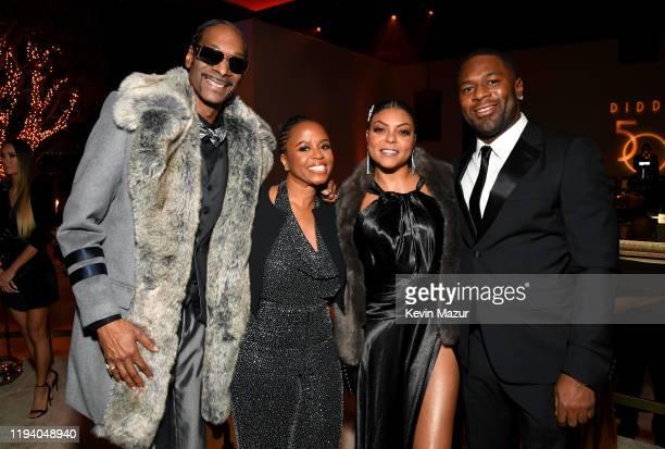 Snoop Dogg Shante Broadus Taraji P Henson and Kelvin Hayden attend Sean Combs 50th Birthday Bash presented by Ciroc Vodka on December 14 2019 in Los...