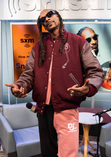 NY: Snoop Dogg Sits Down With Roxanne Shante On SiriusXM's Rock The Bells Radio At The SiriusXM Studios In New York