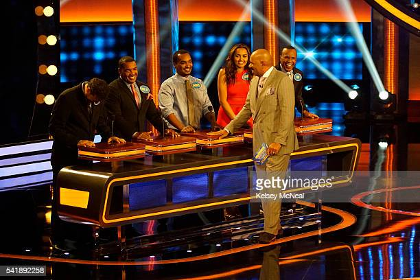 FEUD Snoop Dogg vs Sugar Ray Leonard and Laila Ali vs George Hamilton The celebrity families competing to win cash for their charities feature the...